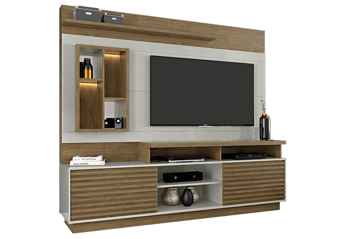 Home Theater Linea Brasil EldoradoCor Avelã c/ Off White