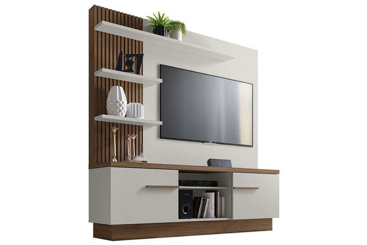 Home Theater Linea Brasil ItaipuCor Off White c/ Nogueira