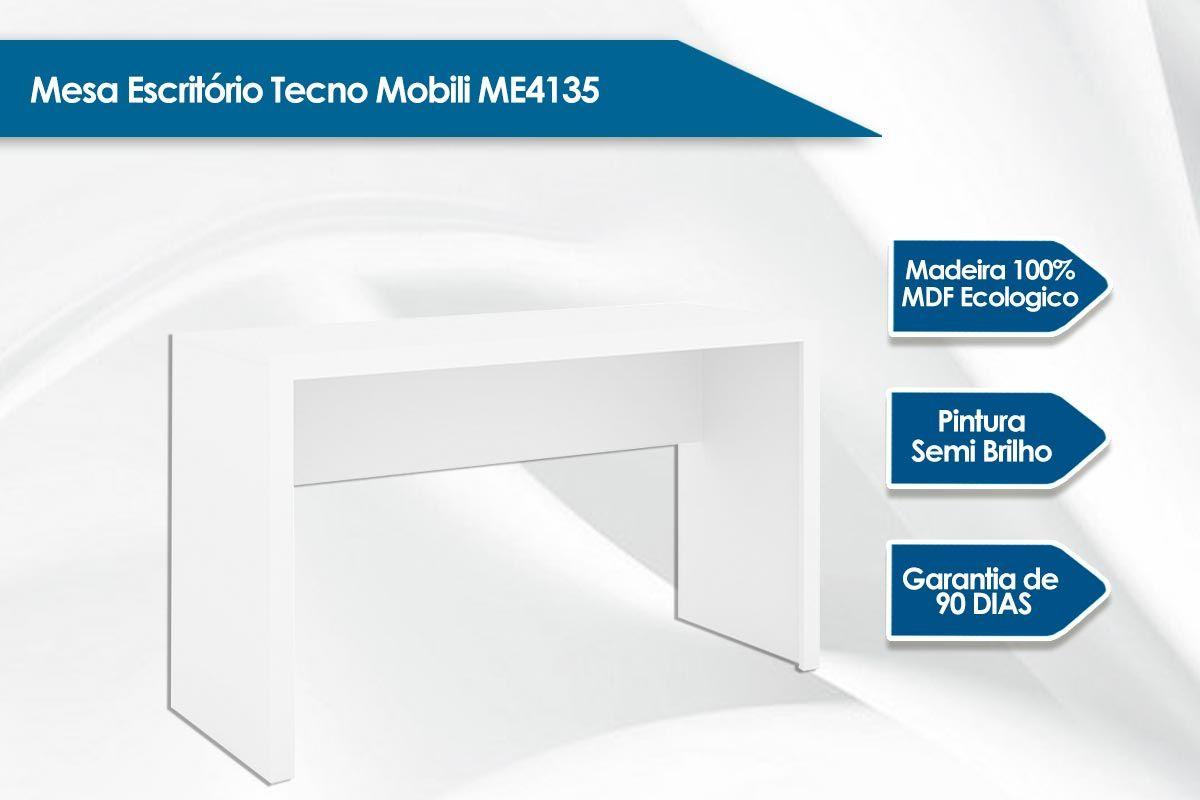 Mesa Escritório Tecno Mobili ME4135