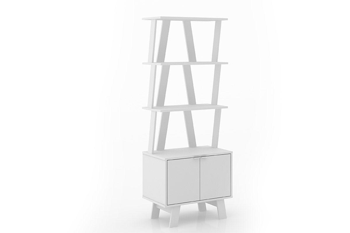 Estante/Livreiro Escritório Tecno Mobili AZ1003Cor Branco