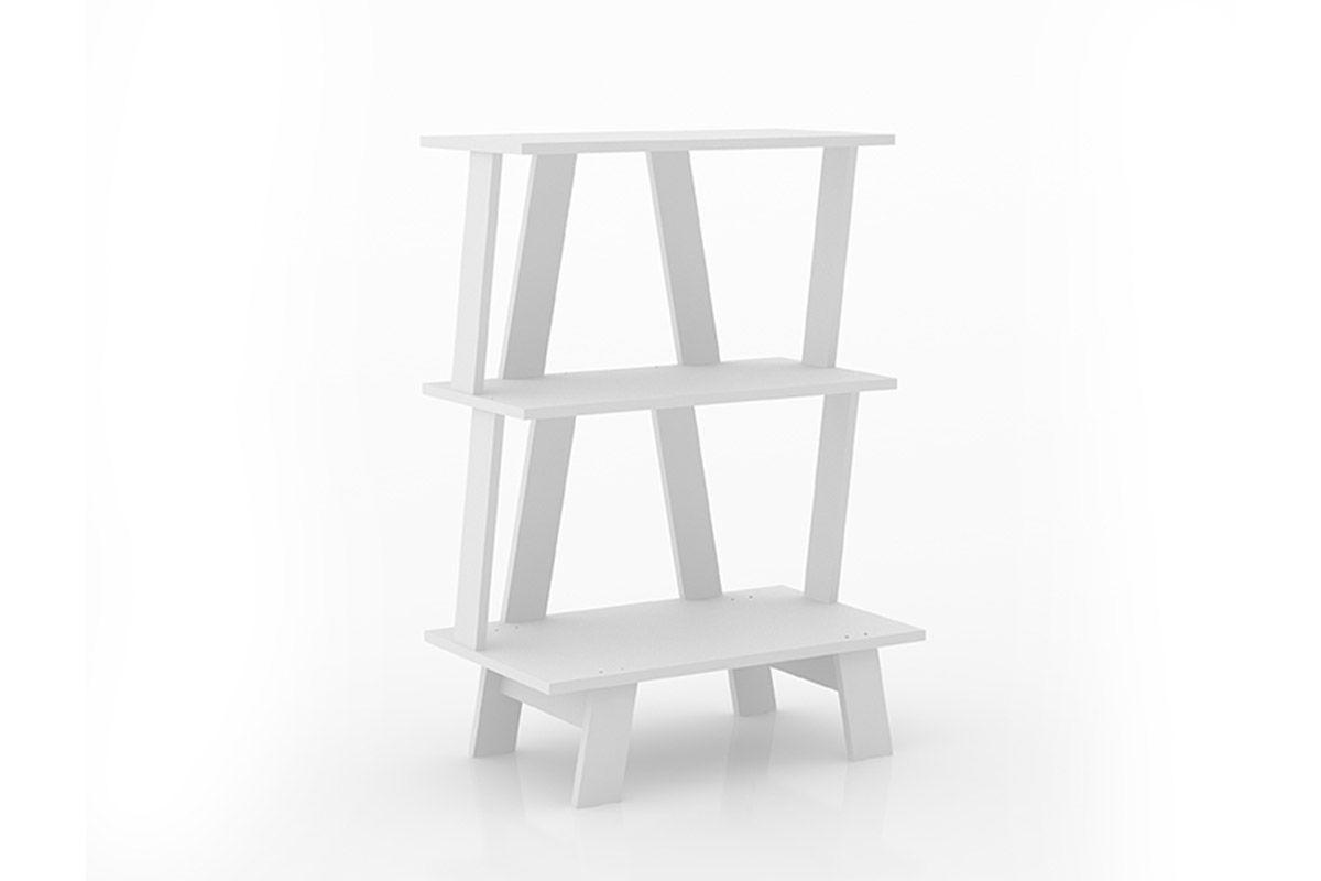 Estante/Livreiro Escritório Tecno Mobili AZ1000Cor Branco