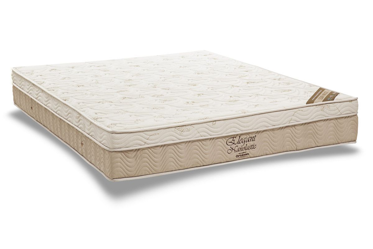 Colchão Ortobom Molas ElegantColchão King Size - 1,93x2,03x0,27 - Sem Cama Box