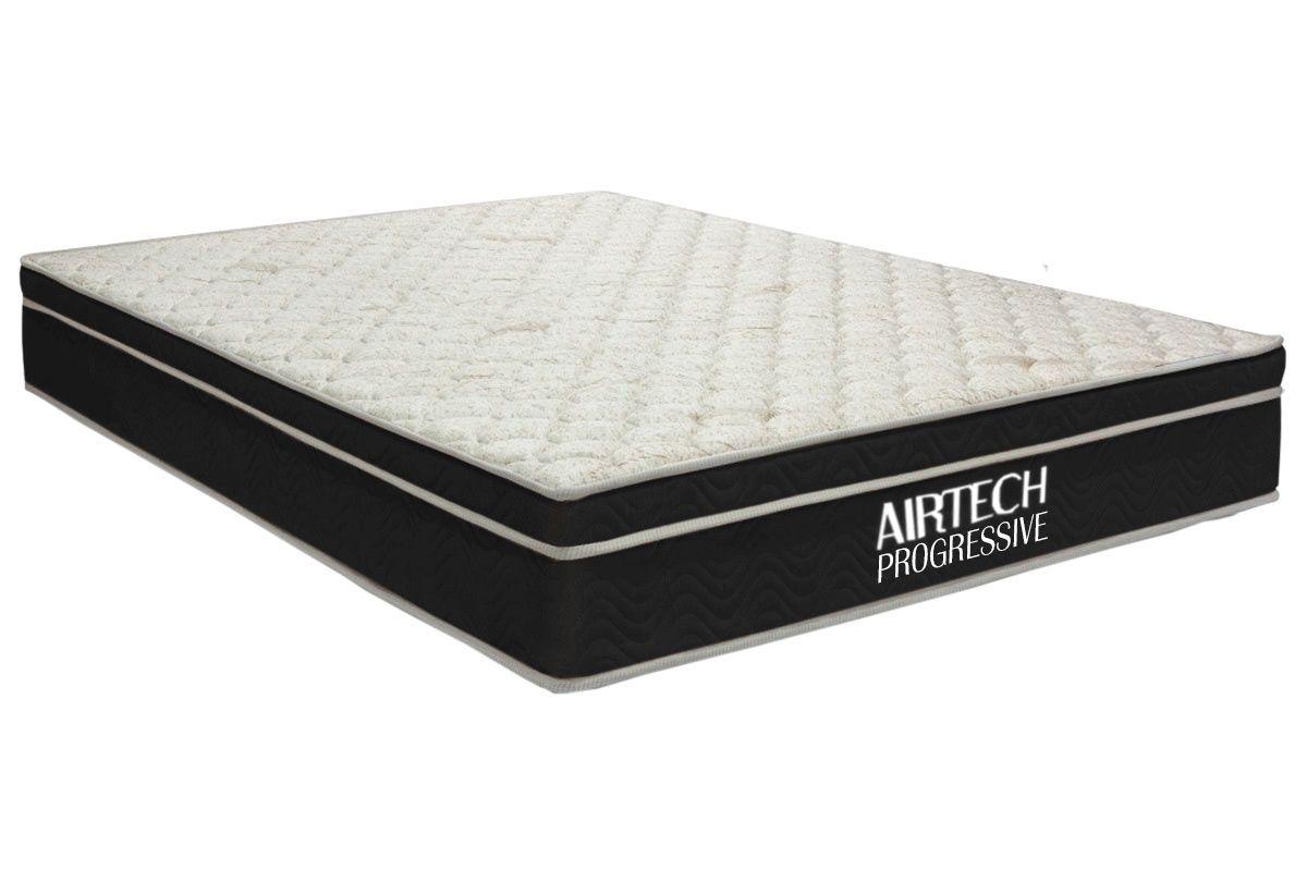 Colchão Airtech Progressive OrtobomColchão Casal - 1,38x1,88x0,29 - Sem Cama Box