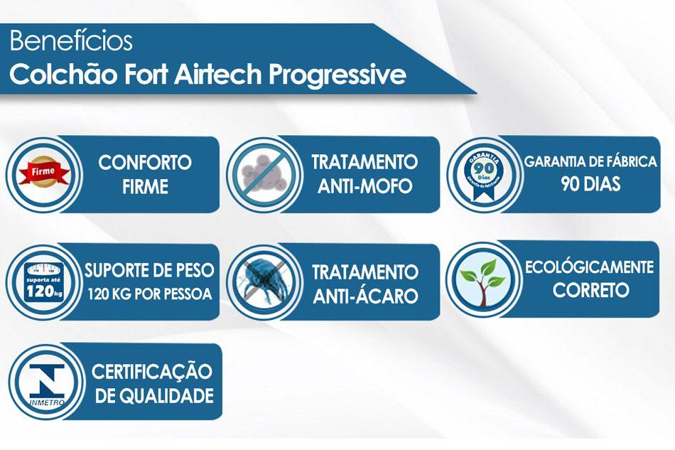 Colchão Airtech Progressive Ortobom