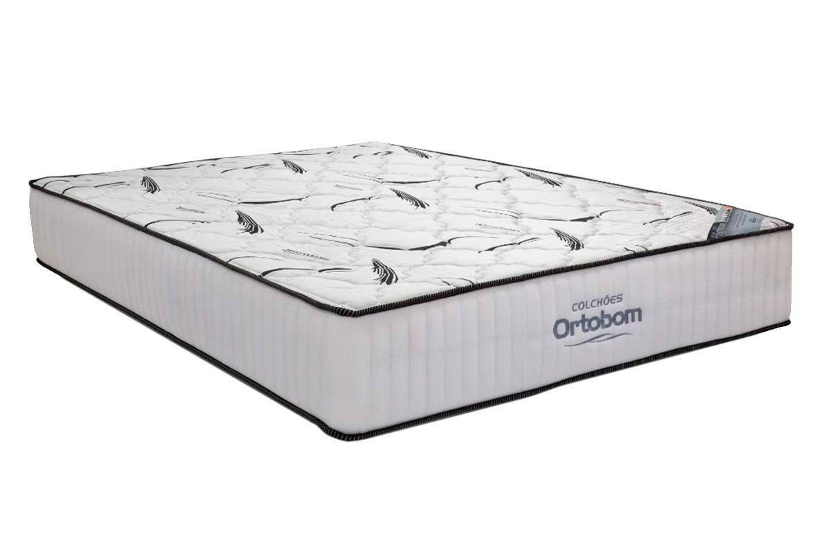 Colchão Ortobom Hight  Foam SeladoColchão King Size - 1,93x2,03x0,28 - Sem Cama Box