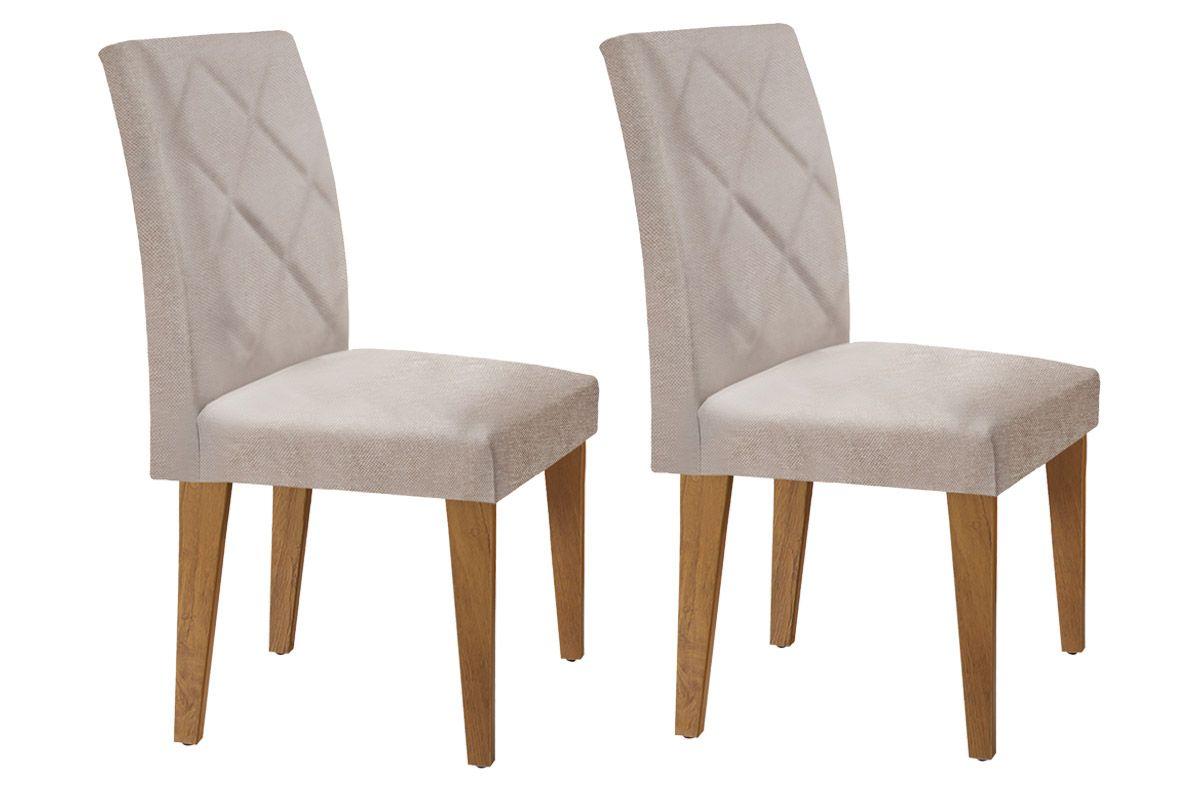 Cadeira Rufato Berlim ImbuiaImbuia - Linho Rústico