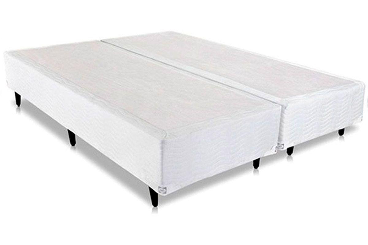 Cama Box Base Sealy Universal Branca