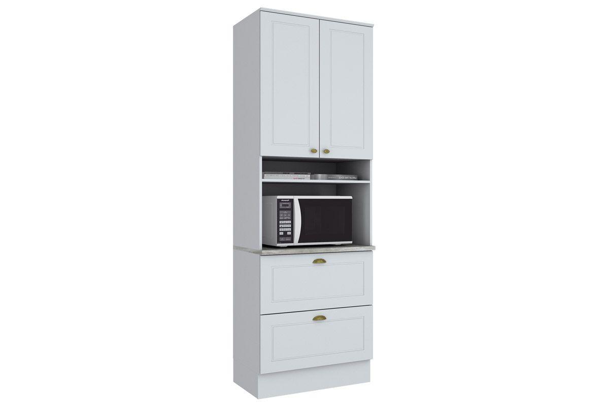 Paneleiro de Cozinha (Torre Quente) Henn Americana c/ 1 Forno 71,5cmCor Branco