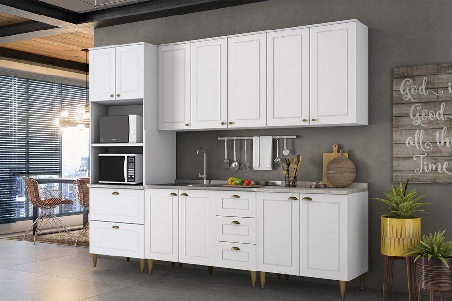 Paneleiro de Cozinha (Torre Quente) Henn Americana c/ 2 Fornos 71,5cm