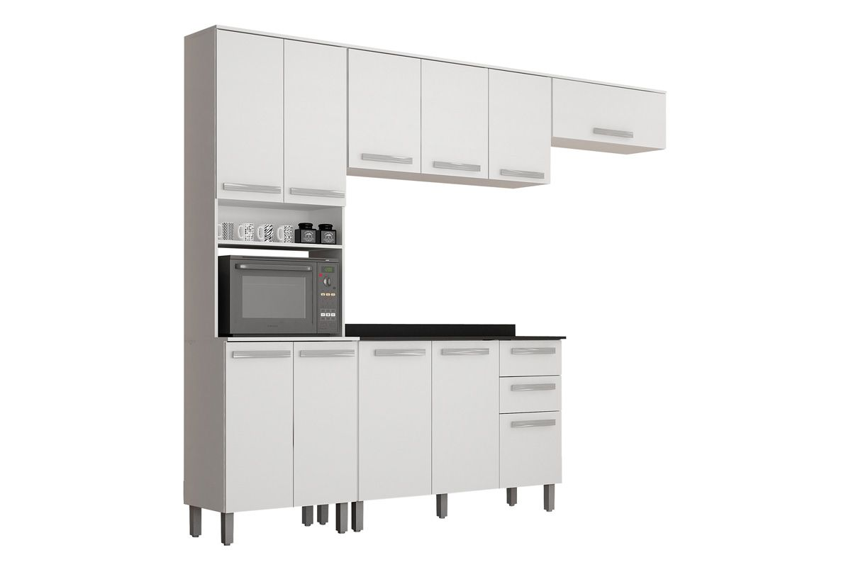 Cozinha Completa Valdemóveis Alpes 4 peças
