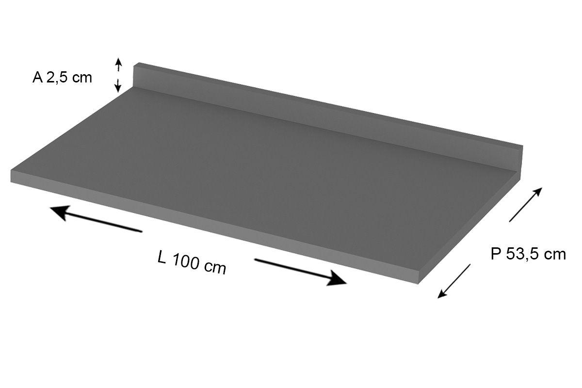 Tampo de Balcão Henn Connect 100cm