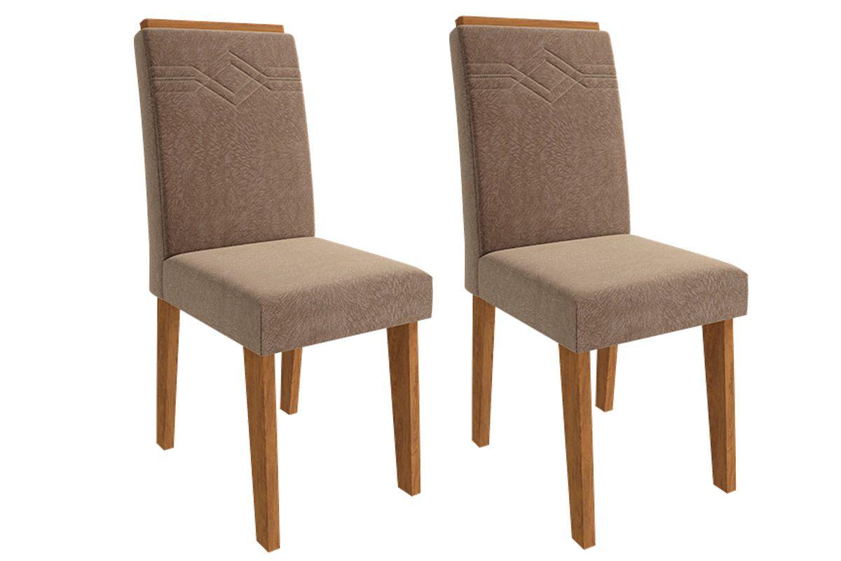 Cadeira Cimol TaísCor Savana- Assento/Encosto Pluma
