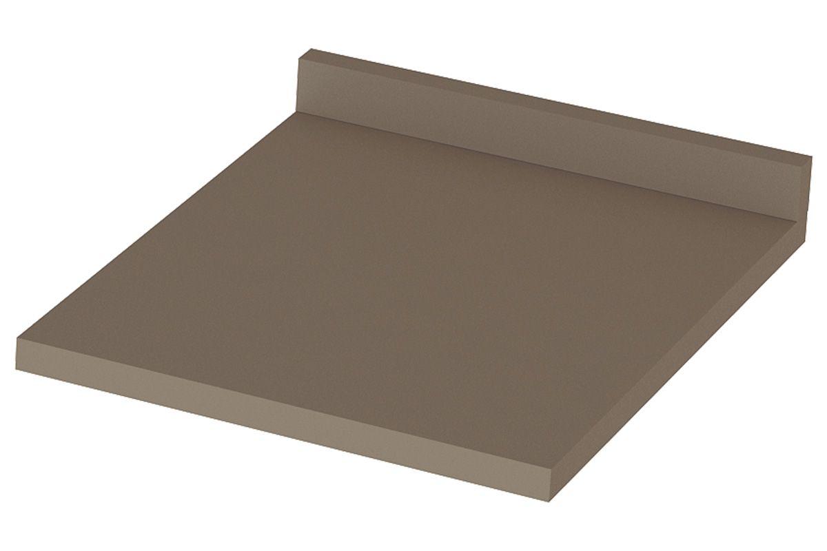 Tampo de Balcão Henn Lyra 40cm (p/ Gabinete 40cm)Cor Duna