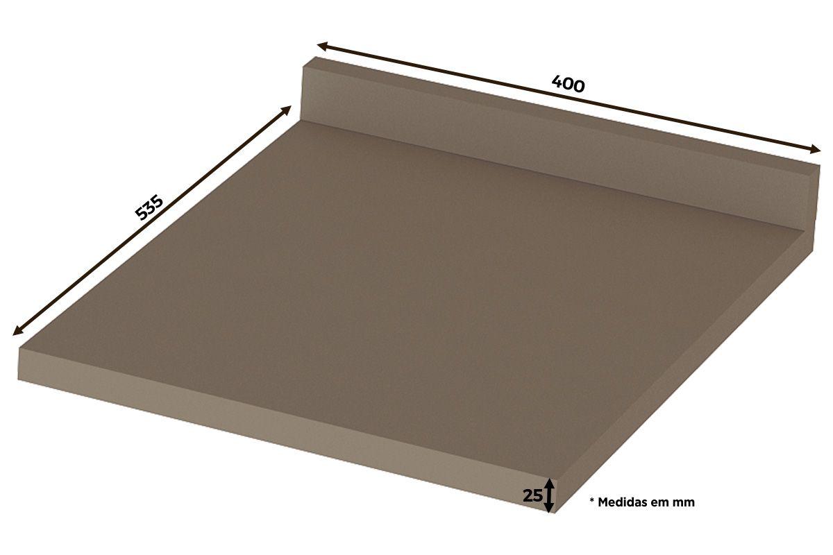 Tampo de Balcão Henn Lyra 40cm (p/ Gabinete 40cm)