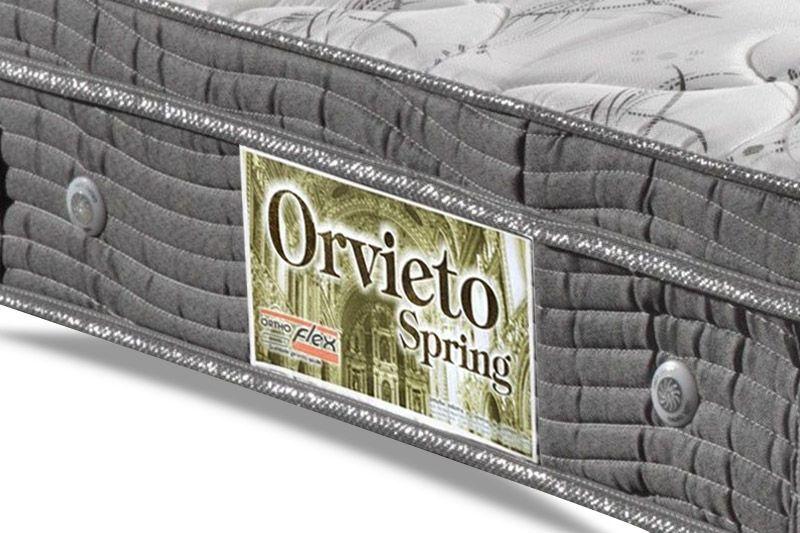 Colchão Orthoflex Molas Bonnel Orvieto Spring Black