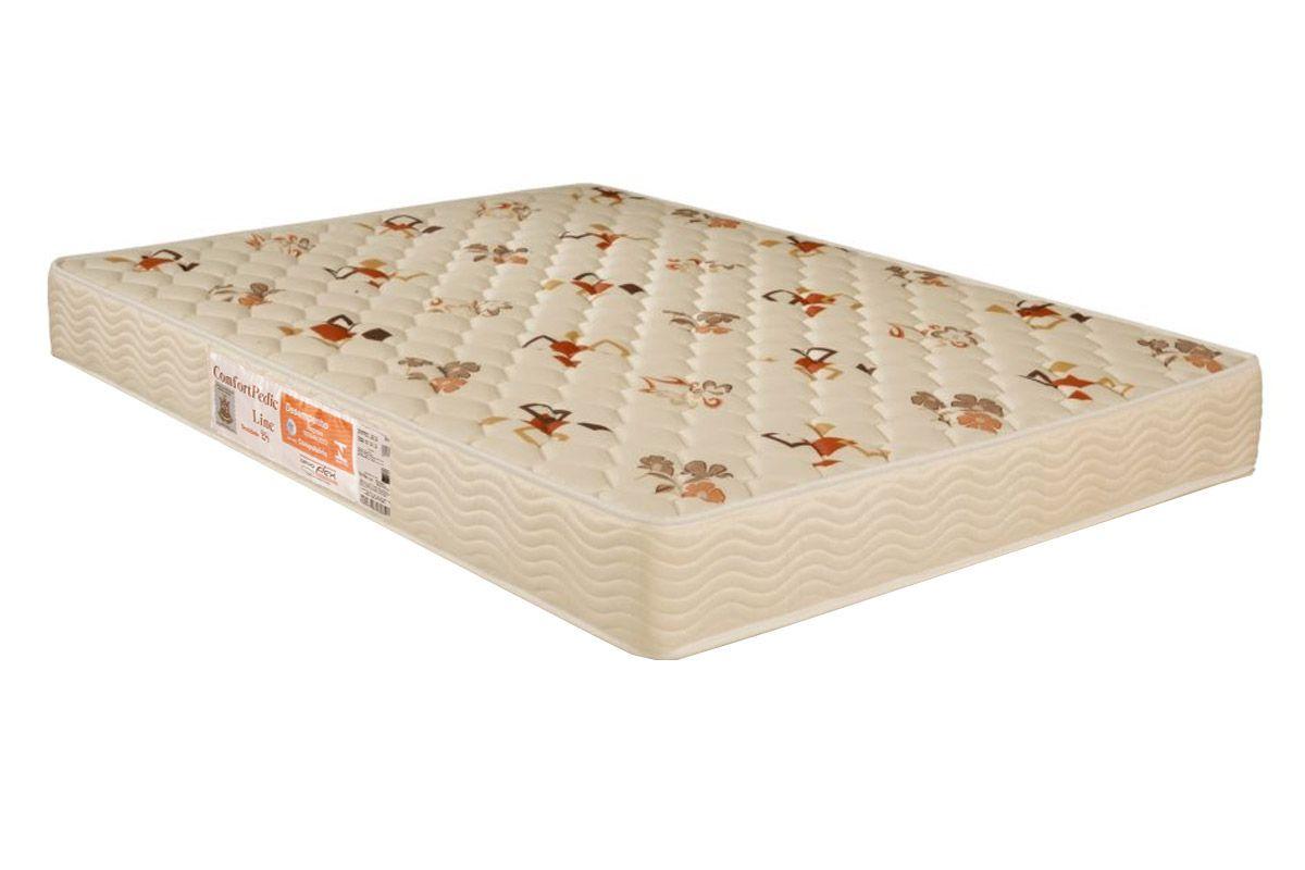 Colchão Orthoflex de Espuma D28 Comfortpedic LineColchão Casal - 1,38x1,88x0,14 - Sem Cama Box
