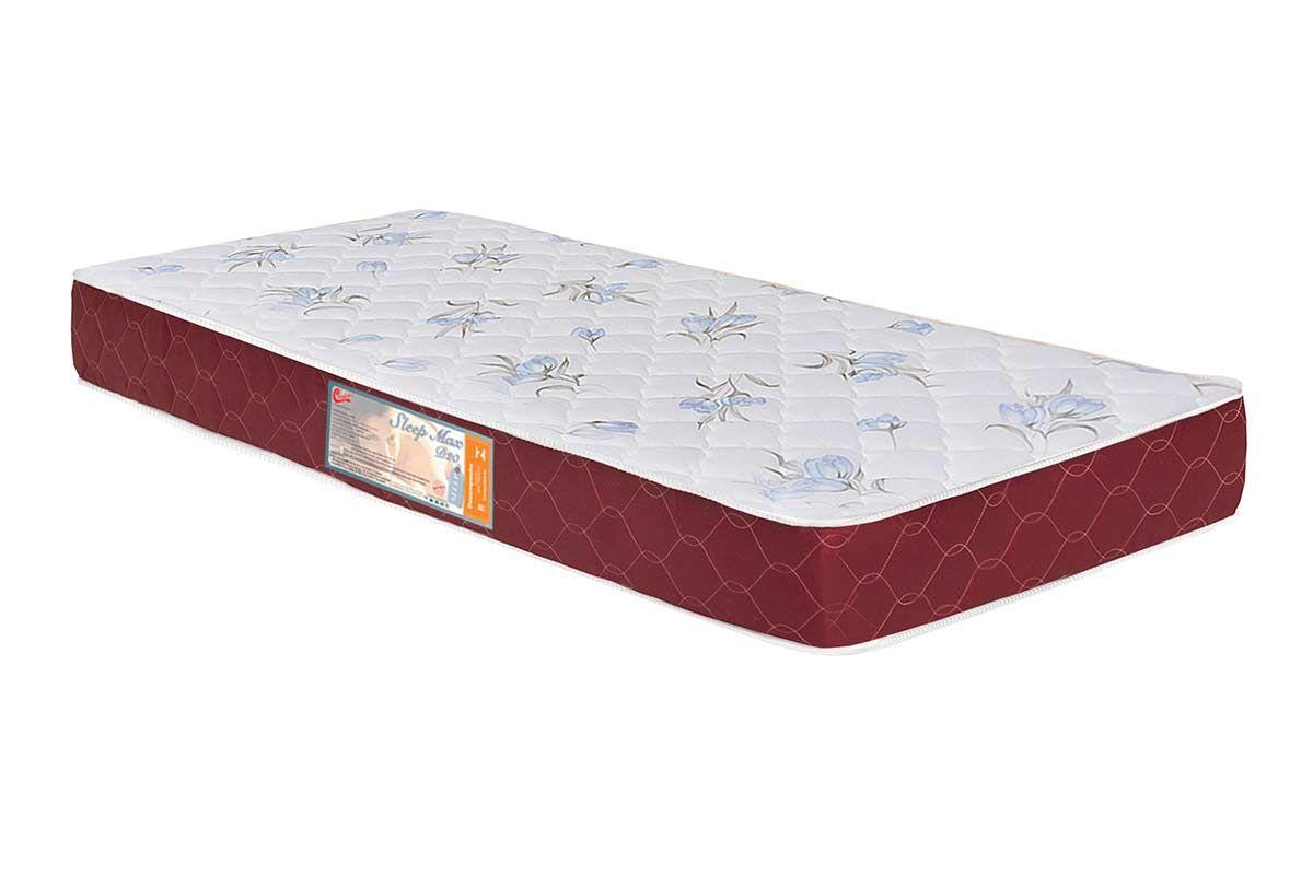 Colchão Castor Espuma D20 Sleep Max 18 cmColchão Solteiro - 0,88x1,88x0,18 - Sem Cama Box