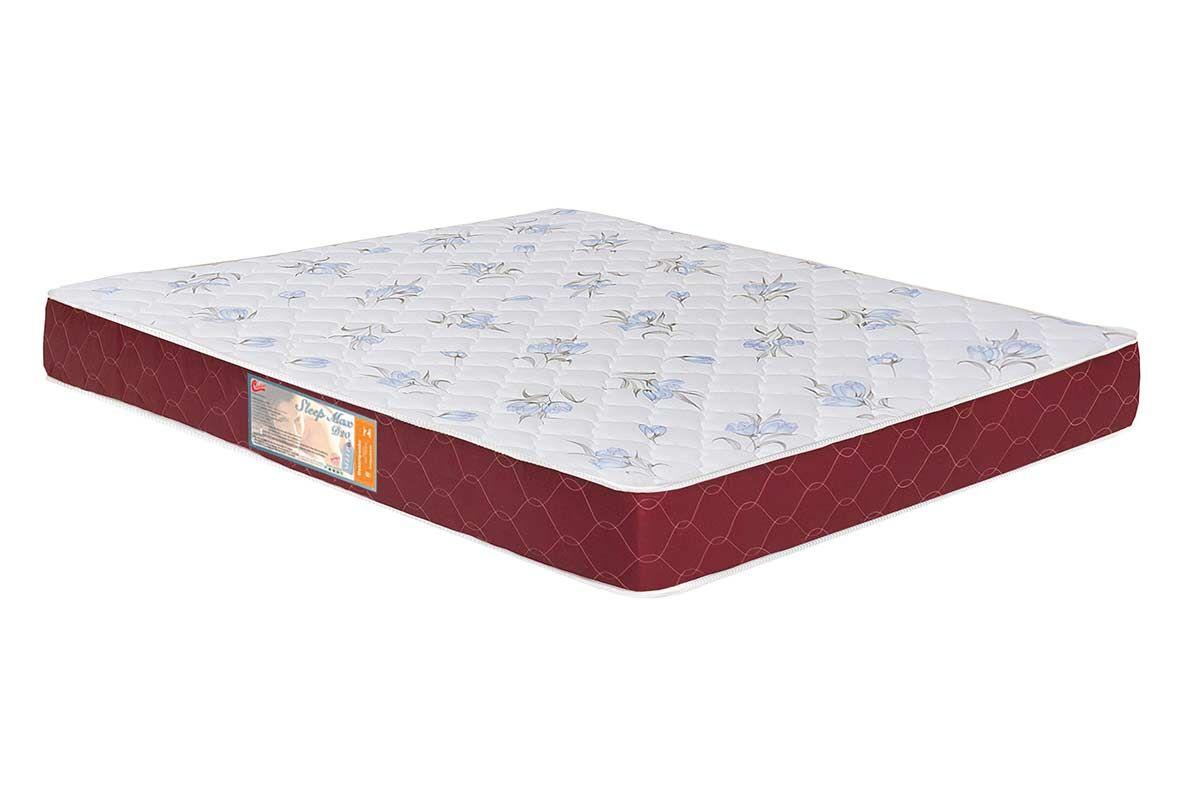 Colchão Castor Espuma D20 Sleep Max 18 cmColchão Queen Size - 1,58x1,98x0,18 - Sem Cama Box