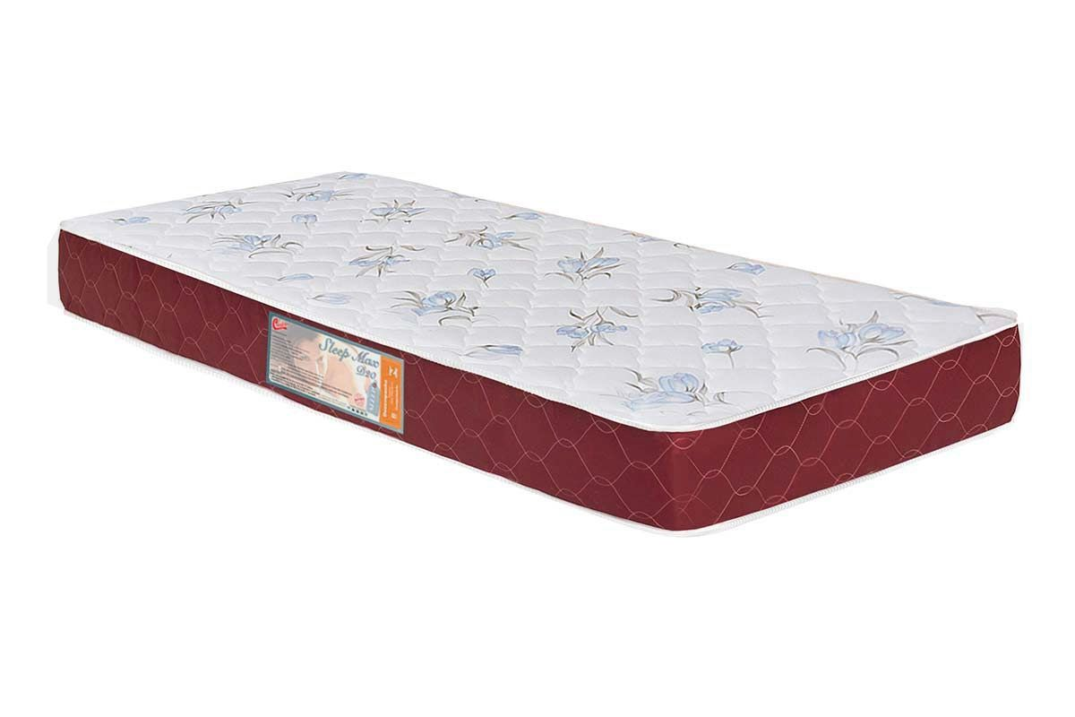 Colchão Castor Espuma D20 Sleep Max 18 cmColchão Solteiro - 0,78x1,88x0,18 - Sem Cama Box