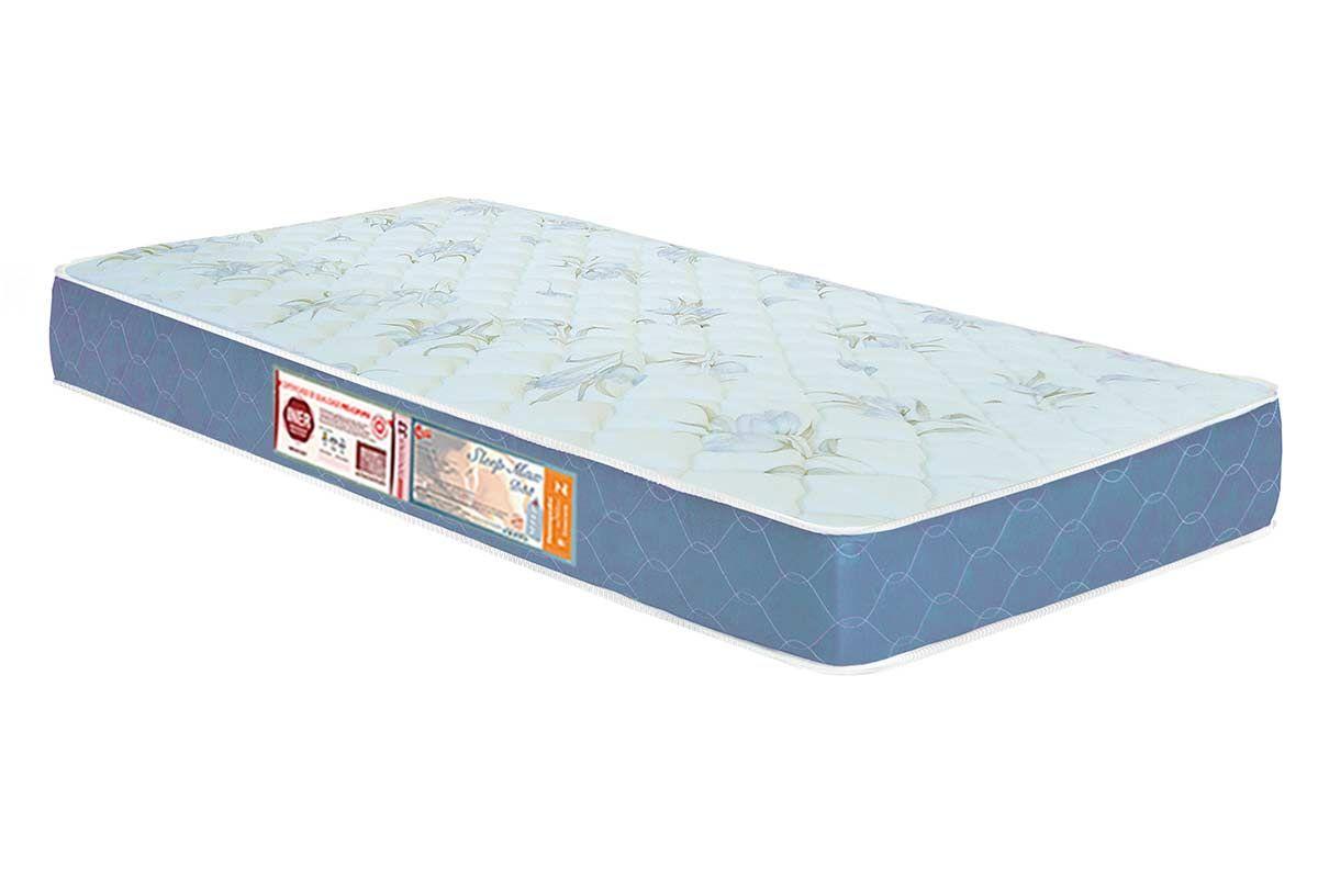 Colchão Castor D45 Sleep Max 18cmColchão Solteiro - 0,88x1,88x0,18 - Sem Cama Box