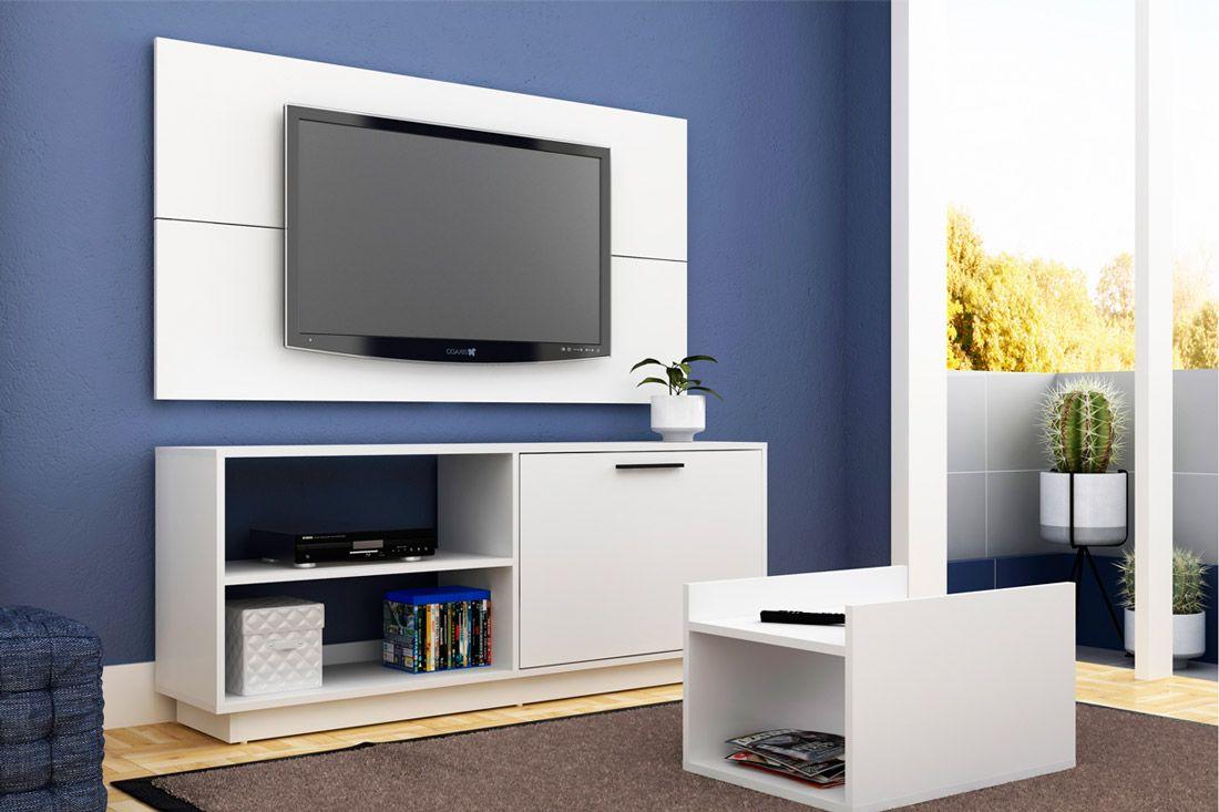 Conjunto de Sala BRV BR 398 para TV de até 48