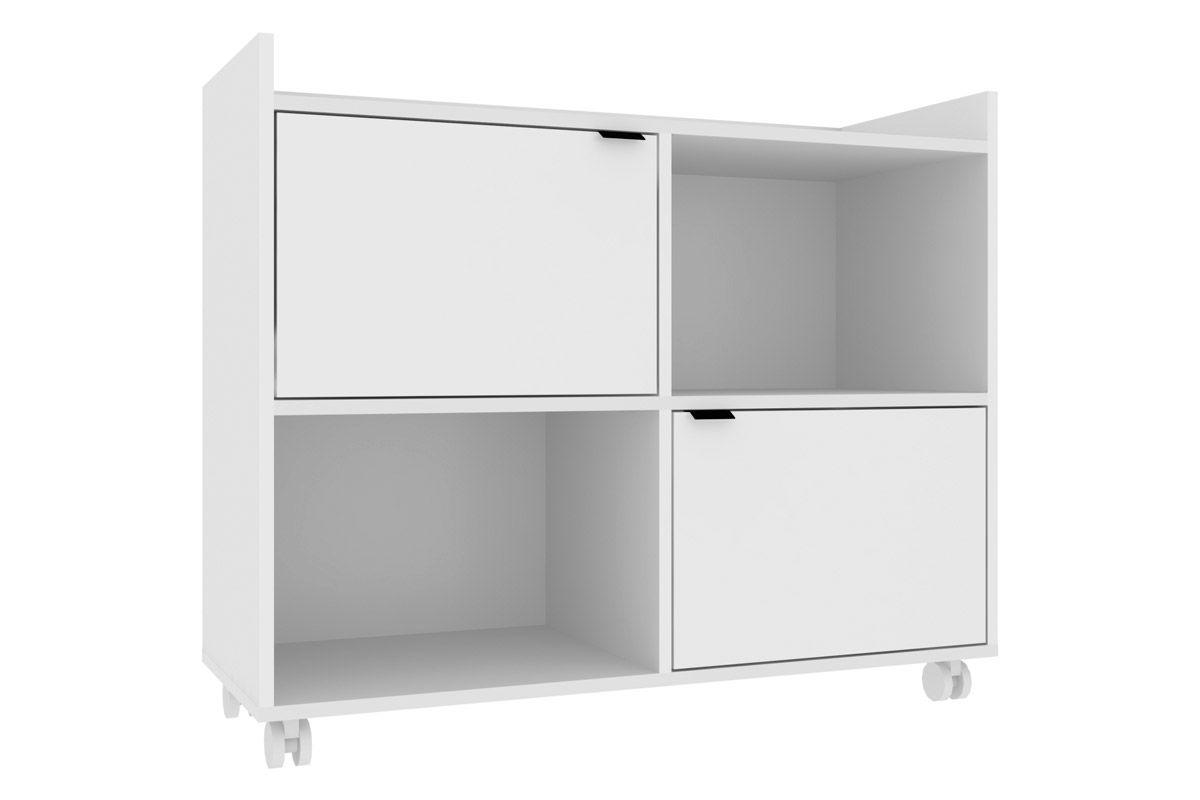 Estante Office BRV BE 69 c/ 2 PortasCor Branco