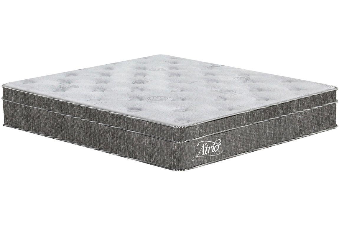 Colchão Plumatex Molas Superlastic ÁtrioColchão Queen Size - 1,58x1,98x0,30 - Sem Cama Box