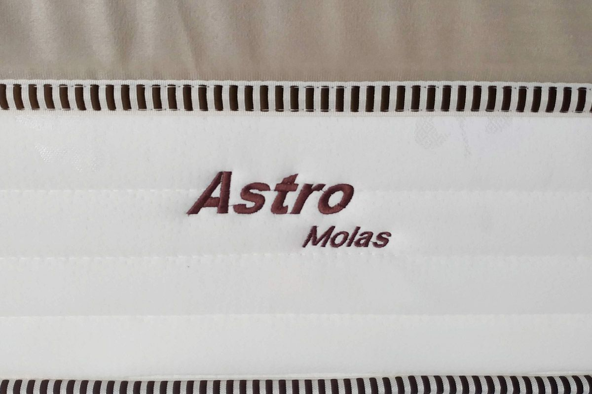 Colchão de Molas Pocket Astro Europilow  - Branco/Bege
