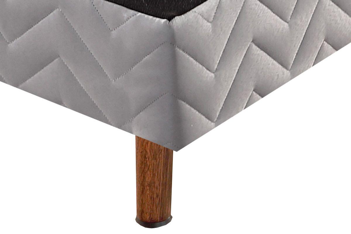 Cama Box Base Paropas Branca 15cm