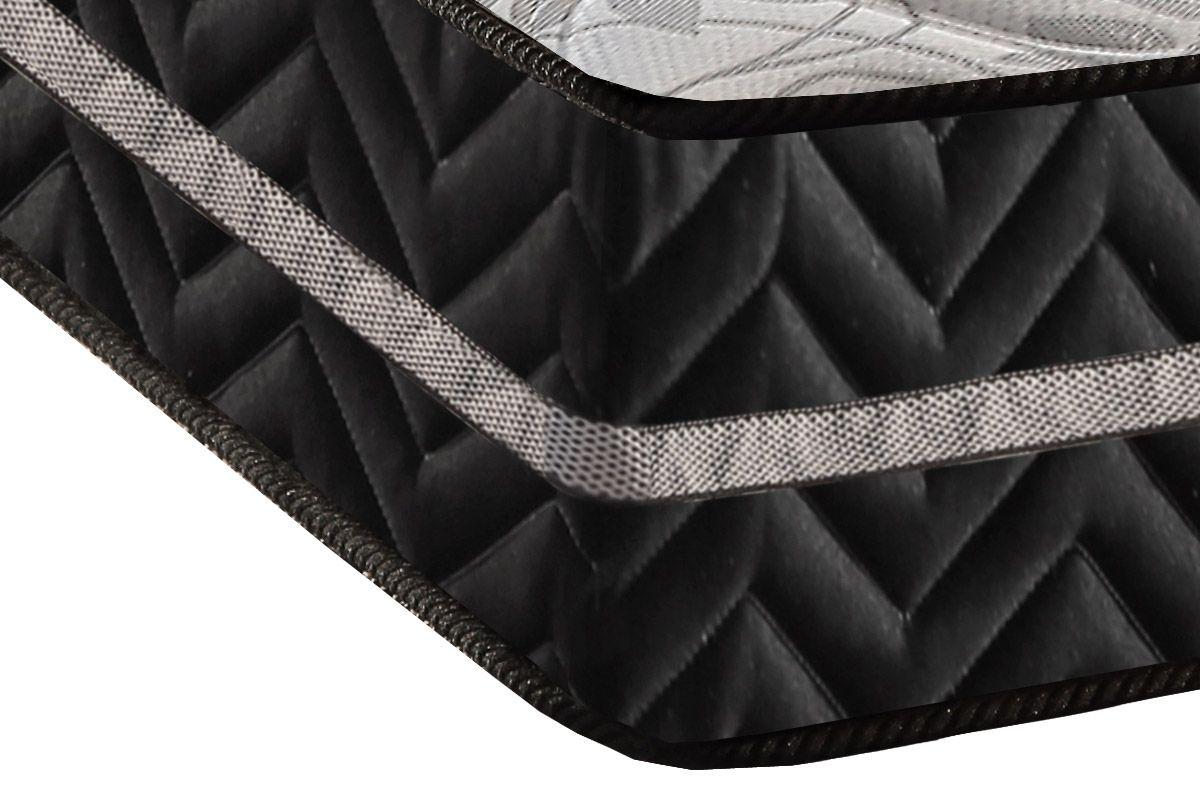 Colchão Paropas Espuma D28 Pasquale Plus Black 25cm