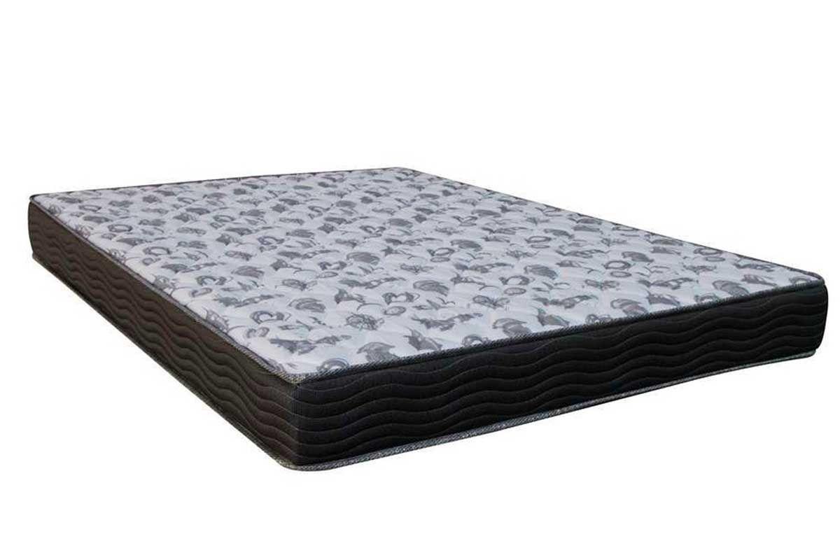 Colchão Ortobom de Espuma D33 ISO 100 Ultra  FirmeColchão Casal - 1,28x1,88x0,18 - Sem Cama Box