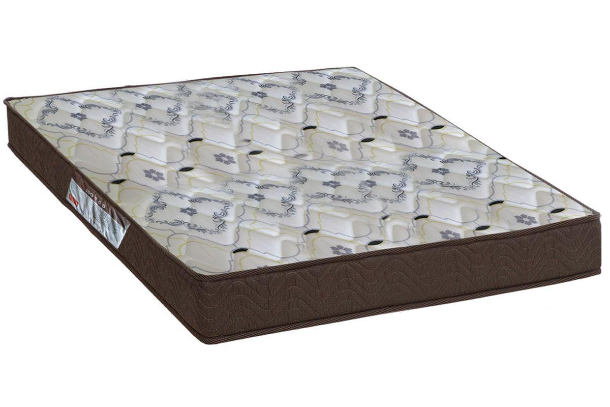 Colchão Ortobom de Espuma D45 ISO 150 Mega Firme 18cmColchão Queen Size - 1,58x1,98x0,18 - Sem Cama Box