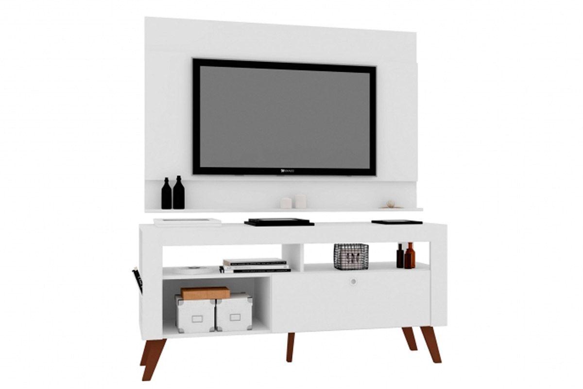 Conjunto Art In Móveis Dinamarca Home c/ Bancada e Painel CJ022