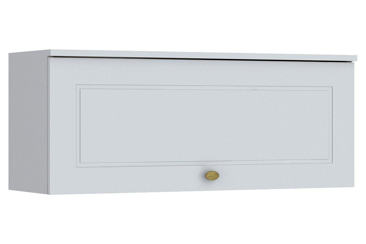 Armário de Cozinha Henn Americana Aéreo 1 Porta Basculante 80cmCor Branco HP