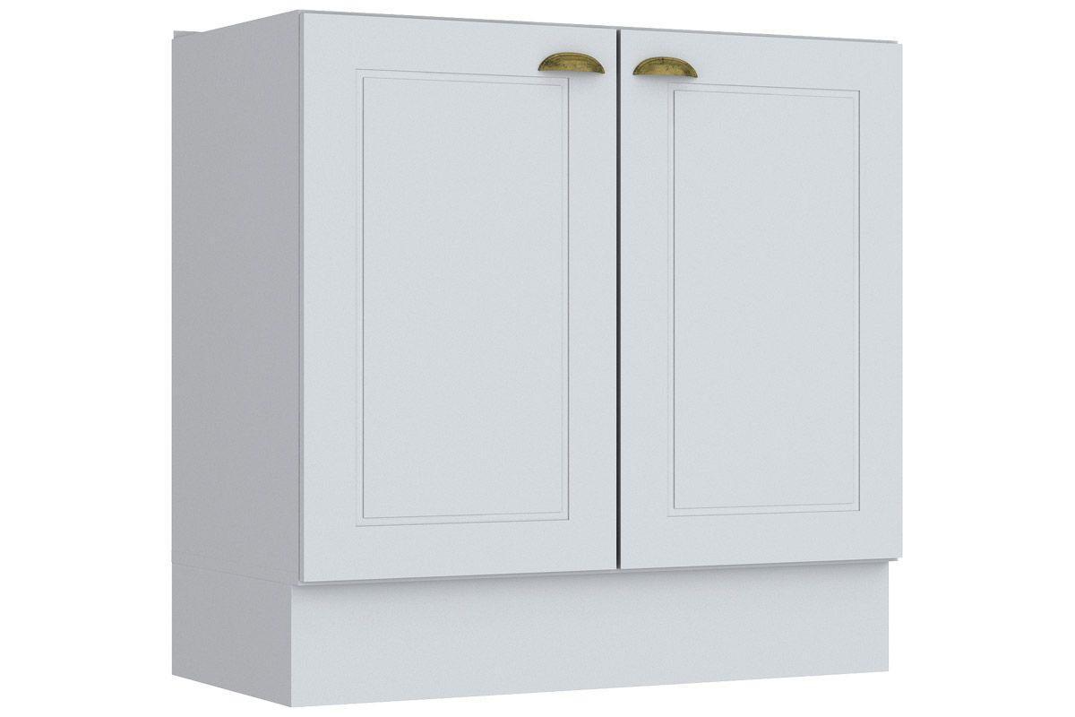 Gabinete (Balcão) de Cozinha Henn Americana c/ 2 Portas 80cm s/ TampoCor Branco HP