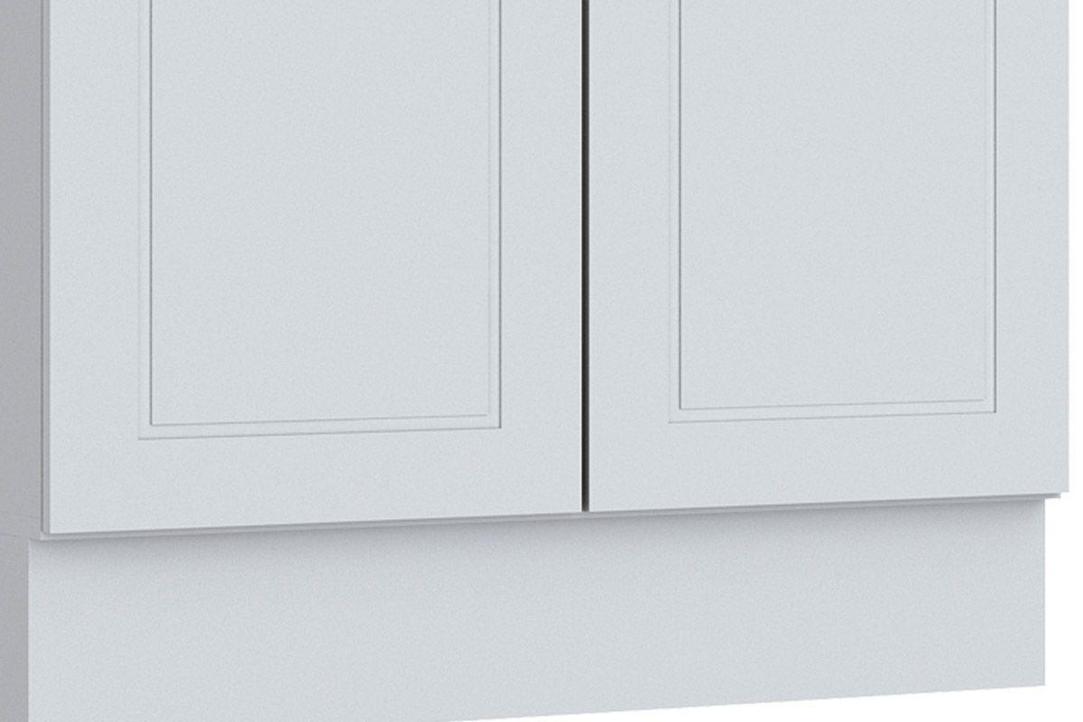 Gabinete (Balcão) de Cozinha Henn Americana c/ 2 Portas 80cm s/ Tampo