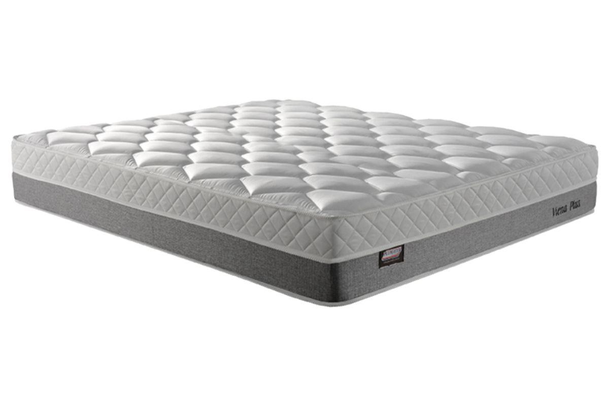 Colchão Plumatex de Molas Verticoil Viena Plus Euro PillowColchão Queen Size - 1,58x1,98x0,28 - Sem Cama Box