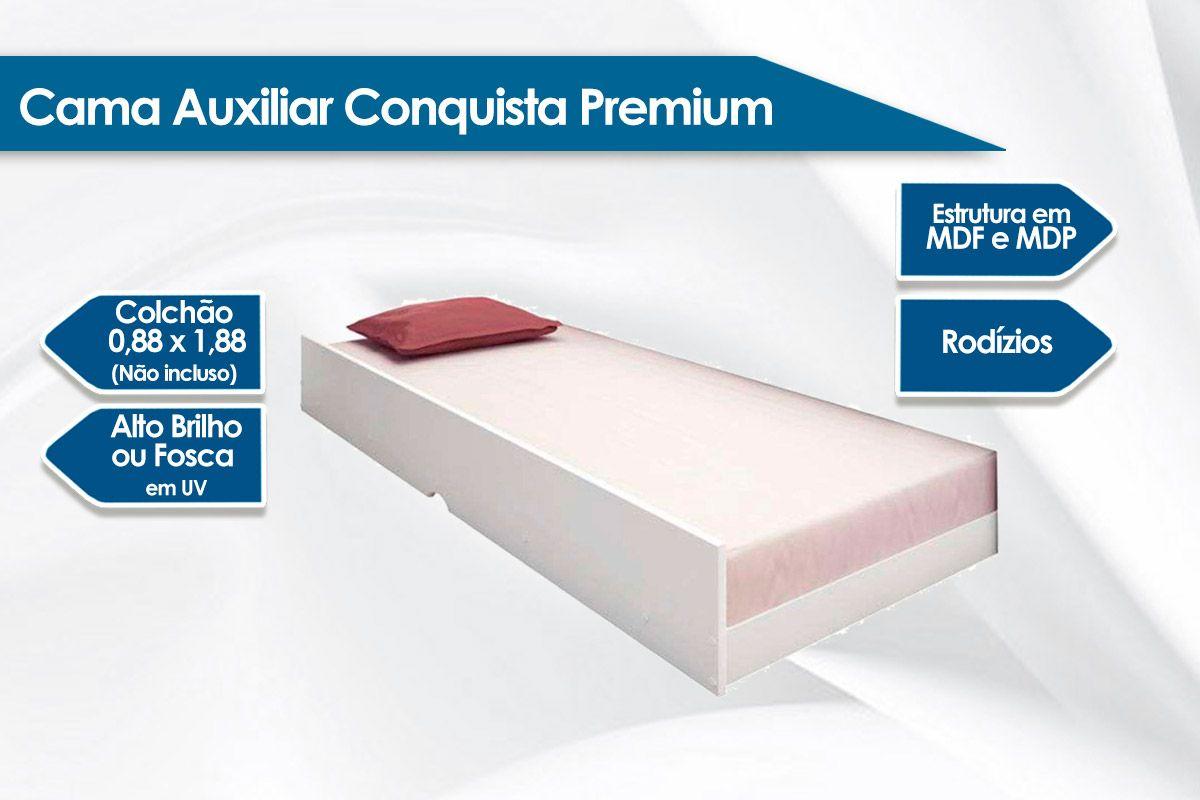 Cama Auxiliar Conquista Premium II