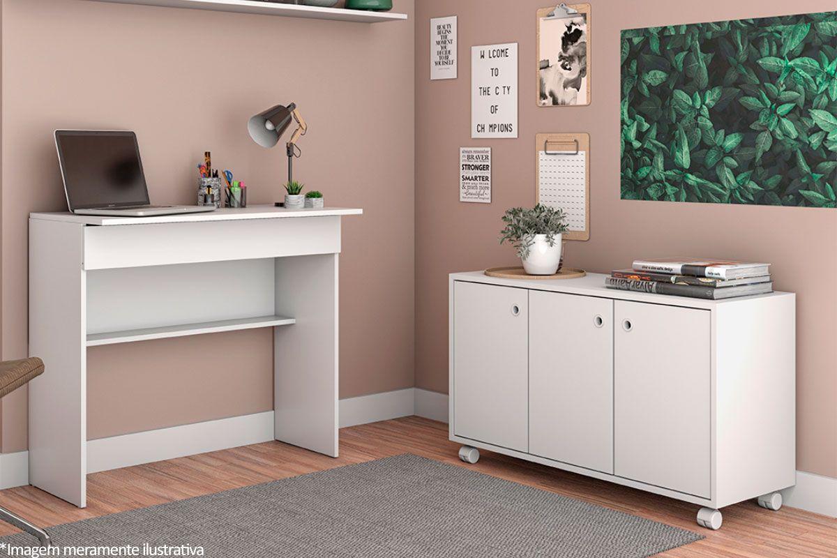 Conjunto Office BRV BKO 11 (Escrivaninha + Balcão)