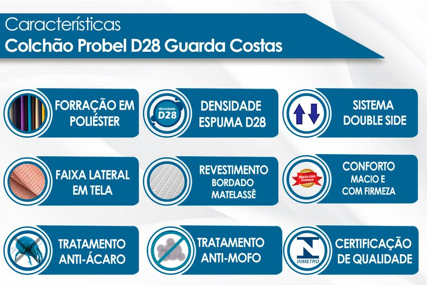 Colchão Probel D28 Guarda Costas