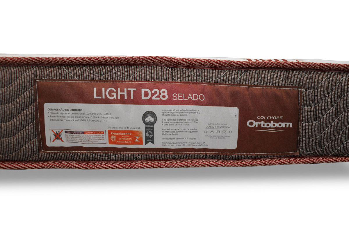 Colchão Ortobom Espuma D28 Light