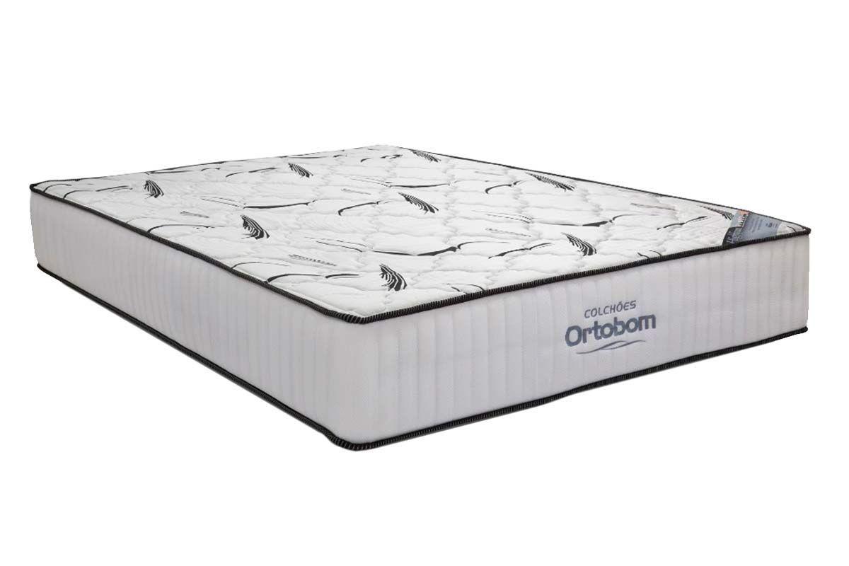 Colchão Ortobom Hight  FoamKing Size - 1,86x1,98x0,28 - Sem Cam Box