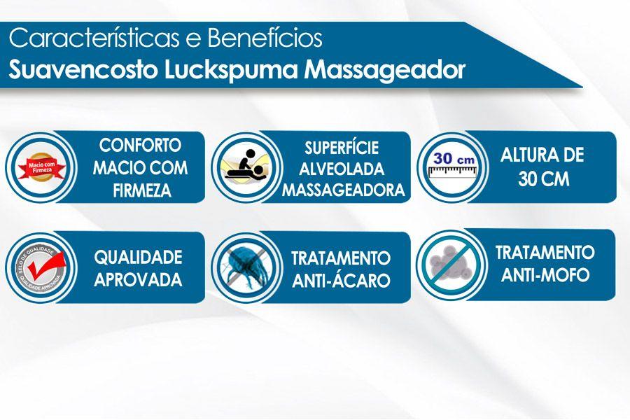 Encosto Luckspuma Confort Luck