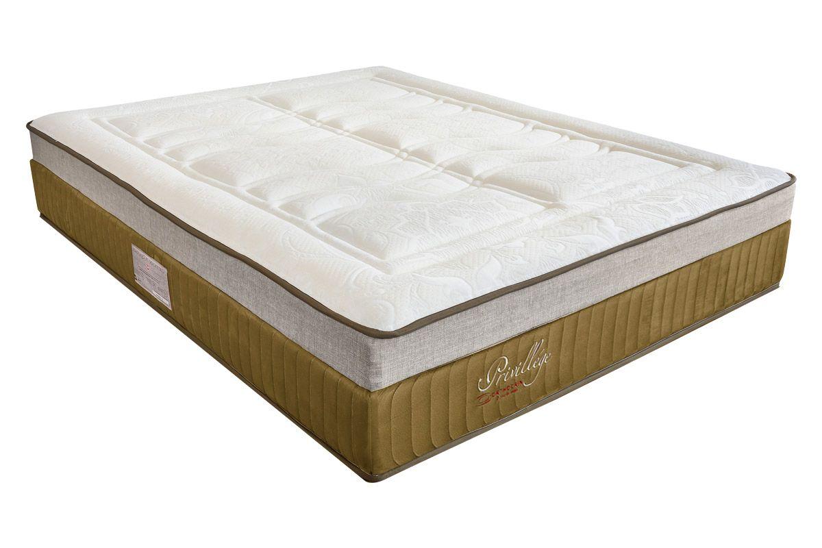 Colchão Orthocrin Molas Pocket PrivillegeColchão Queen Size - 1,58x1,98x0,36 - Sem Cama Box