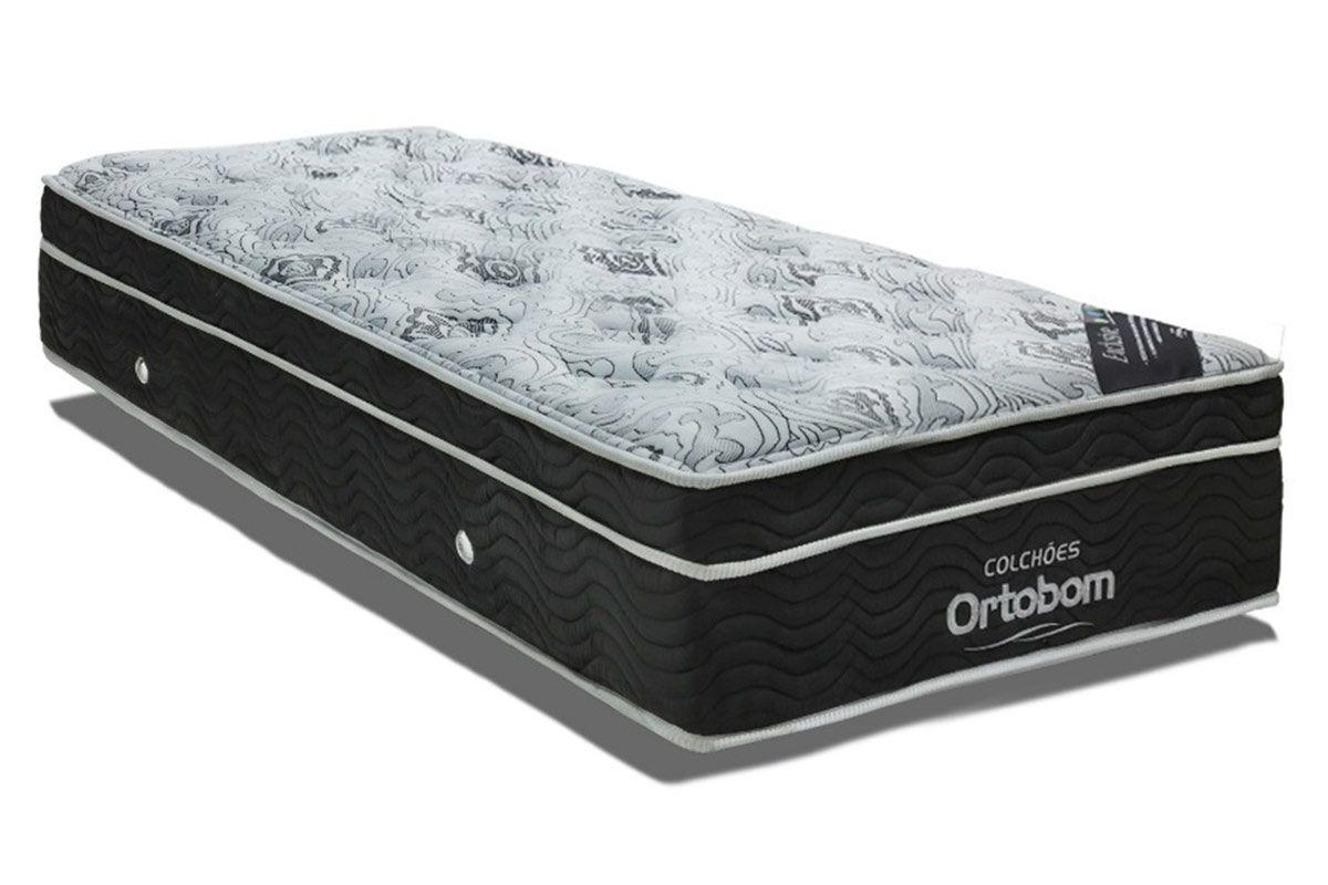 Colchão Ortobom Nanolastic ExclusiveColchão Solteiro - 0,78x1,88x0,30 - Sem Cama Box
