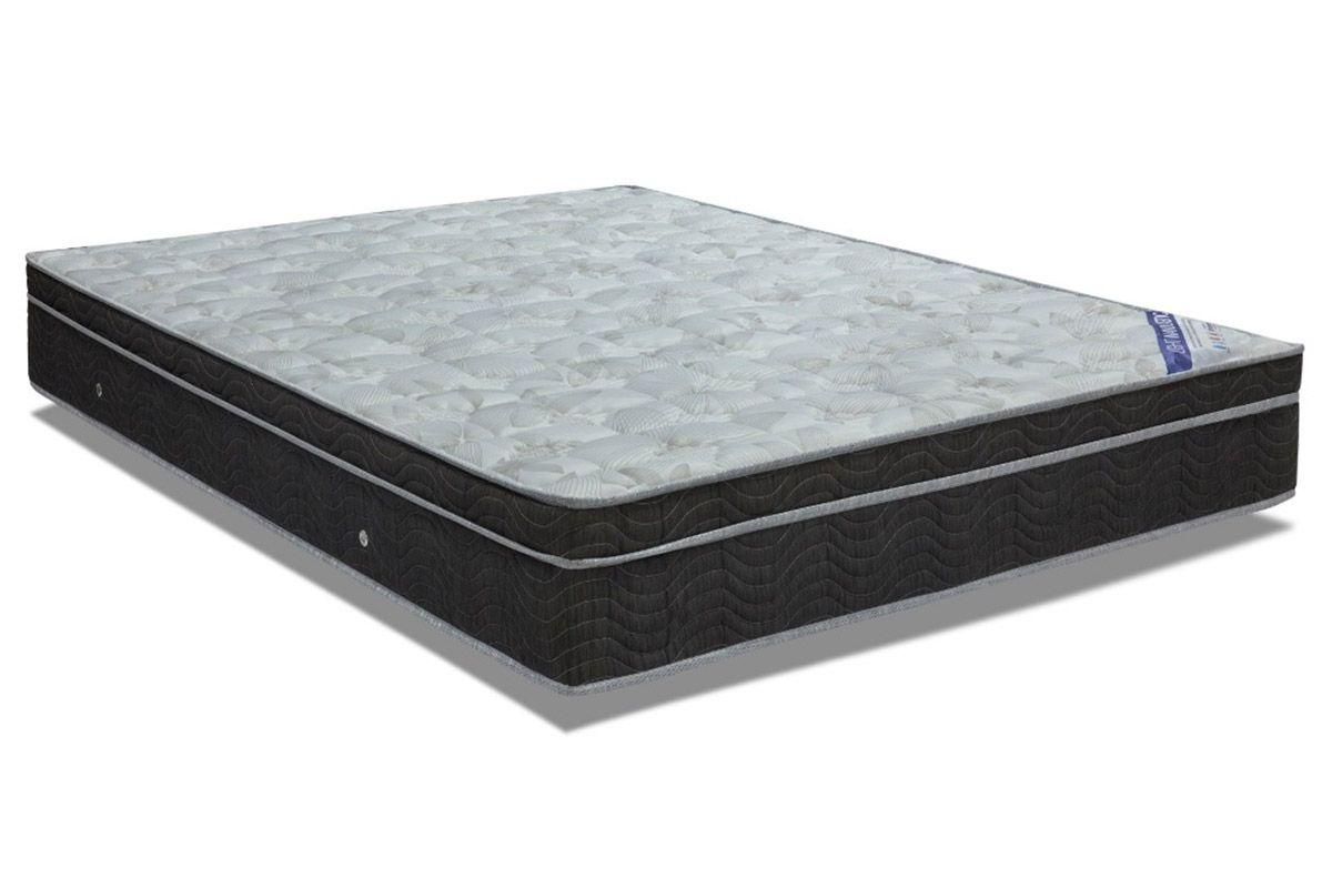 Colchão Ortobom Molas Nanolastic LightColchão King Size - 1,86x1,98x0,25 - Sem Cama Box