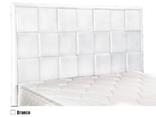 Cabeceira Box MB Pequim  1,38 Casal - Cor Branco