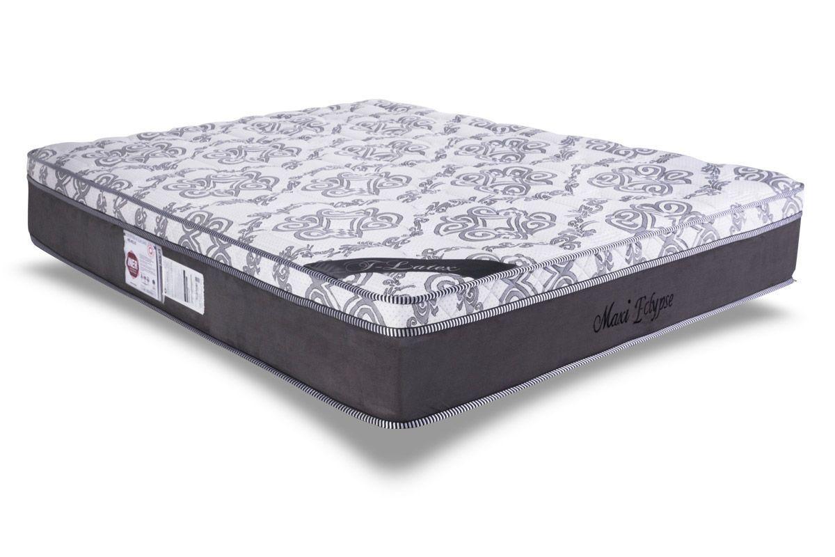 Colchão Luckspuma Molas Pocket Maxi EclypseColchão King Size - 1,93x2,03x0,32 - Sem Cama Box