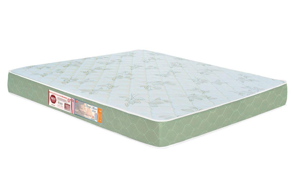 Colchão Castor D33 Sleep MaxColchão Casal - 1,38x1,88x0,18 - Sem Cama Box