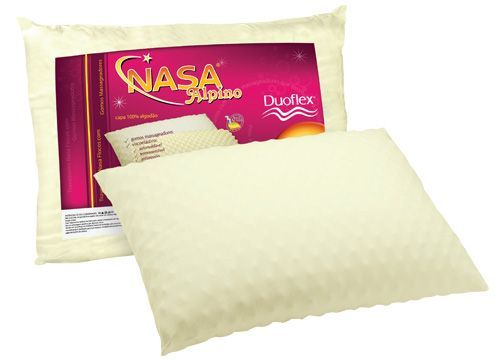 Travesseiro Duoflex Alpino NASA Flocos de Visco